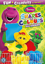 Barney - Shapes & Colours All Around 2011 [DVD] DVD, Excellent, , Barney and his