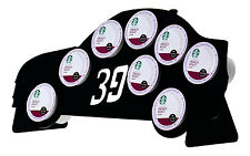 Nascar Ryan Newman Black 8 K Cup Dispenser Coffee Keurig tree pod holder