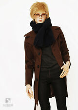BJD Handsome Wind Coat for 1/4 MSD 1/3 SD13 SD17 Uncle BJD Doll Clothes CMB64