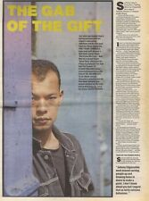 1/4/89Pgn12 Article & Picture 'the Gab Of The Gift' Fine Young Cannibal's Roland