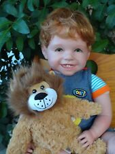 "Reborn 22"" red headed Toddler Boy Doll ""Shawn- ""Lion Roar Adventures"""
