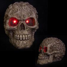 Totenkopf der Seelen mit LED Augen GOTHIC 12cm Skull Schädel Totenkopf Mystik