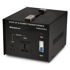 Bronson VT 3000 Watt 110 Volt USA Spannungswandler Transformator 110V 3000W