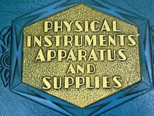 Physical Instruments Apparatus Supplies Milvay Science Catalog 42 Book c.1931