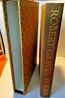 Robert Graves Poems British Irish Limited Edition Club Signed Numbered Hardcover