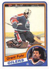 1984-85 O-Pee-Chee #241 Grant Fuhr Oilers