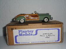 PLAYTOY Belgique Chrysler Town & Country 1946  MONTAGE BRIANZA résine 1/43 RARE