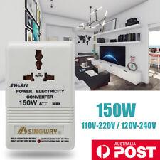 110V-120V to 220V-240V Step Down&Up Voltage Transformer Converter Power Adapter