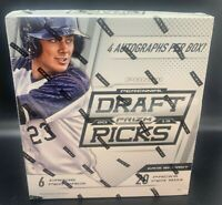2013 Panini Draft Picks Baseball - Hobby Box - 4 Autographs - Judge? Betts? +++