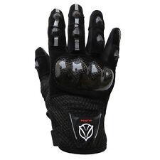 Guanti Moto Tecnici Estivi Hero Softshel In Tessuto Con Protezioni Nero