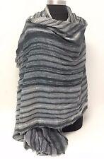Lady Vintage Women Long Soft Voile Print Scarves Shawl Wrap Pashmina Stole & SIM