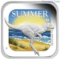 2013 AUSTRALIA FOUR SEASONS SUMMER 1oz Silver Proof Coin
