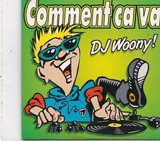 DJ Woony-Comment Ca Va cd single