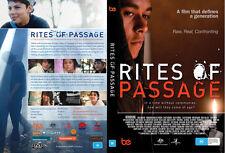 Rites of Passage DVD Pal Beyond Empathy PAL Youth Film