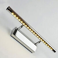 Modern 7W LED Mirror Wall Light Picture Front Lamp w/ Switch Bathroom Warm White