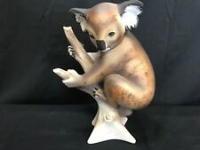 "Royal Dux Bohemia ""Koala on Branch"" #24475 ~ 11"" Tall ~ Czech Republic"
