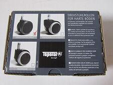 TOPSTAR Design-hartbodenrollen für Bürodrehstühle