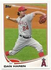 2013 Topps Dan Haren Angels #24 Baseball Card