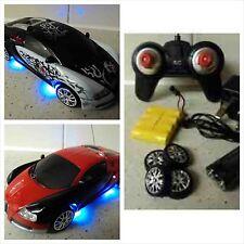 Bugatti Veyron Estilo RC coche Eléctrico Recargable Drift Rc Car 4wd 1/24