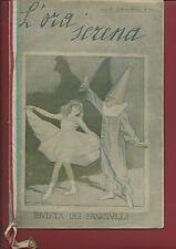 Rivista dei Fanciulli L'Ora Serena Anno II N. 2-3 Armando Miccoli 1920