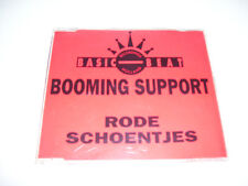 BOOMING SUPPORT - RODE SCHOENTJES ( 2 track CD MAXI HOLLAND 1991) early hardcore