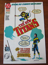 The NEW TITANS #89 Prelude to TOTAL CHAOS! Marv Wolfman Junie Brigman Art NM+