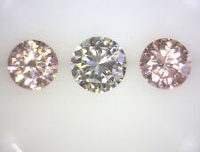 0.195ct!! AUSTRALIAN AUTHENTIC ARGYLE PINK DIAMONDS MATCHED PAIR 100% UNTREATED