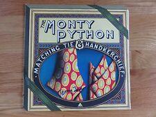 TERRY JONES of THE MONTY PYTHON signed MATCHING TIE & HANKERCHIEF Record / Album