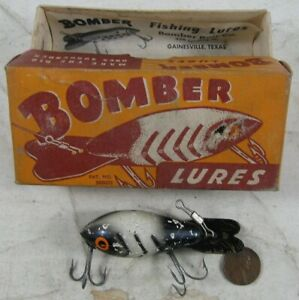 Vintage 1940's Wood Fishing Lure Bomber #3
