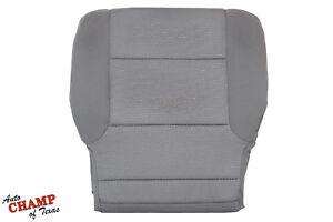 2015 2016 GMC Sierra 1500 SLE SLT Z71 -Driver Side Bottom Cloth Seat Cover Gray
