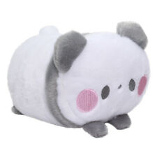 Panda Bear Plushie Japan Super Soft Stuffed Animal Toy Kawaii Cute White Gray