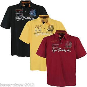 Herren Übergröße Polo-Shirt T-Shirt Poloshirt 3XL 4XL 5XL 6XL 7XL (4688)