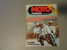 1977 MOTO JOURNAL MAGAZINE,HONDA 310 TRIALS,ROAD RACING,IN FRENCH LANGUAGE,MOTO