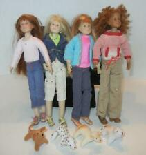 Only Hearts Club 4 Dolls With Rare Pets And Outfits Lot Euc