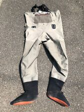Simms G3 Waders ~ Greystone ~ Size LK ~ USED #26