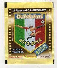 BUSTINA CALCIATORI PANINI 2013/2014 IL FILM DEL CAMPIONATO ''CORSA D'INVERNO''