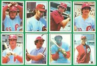 1976 SSPC PHILADELPHIA PHILLIES TEAM SET NM/MT  BOWA  CARLTON  LUZINSKI  SCHMIDT