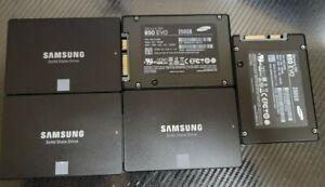 LOT OF 5 - Samsung 850 EVO 250 GB,Internal,2.5 inch (MZ-75E250B/AM) SSD