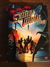 STARSHIP TROOPERS TRILOGY DVD BOX SET USED FREE SHIPPING