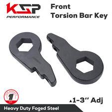 """1"""" - 3"""" Leveling Kit Forged Torsion Keys Bar Lift K1500 Silverado Sierra Tahoe"""