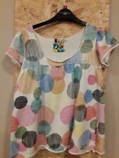 Roxy Womens Multicoloured Pattern Top Size UK S