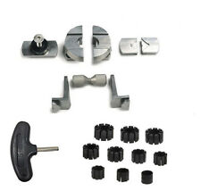 Euro Setting Tools QC.BS.00 Basic Set for GRS MicroBlock Ball Vise (Jura Tools)