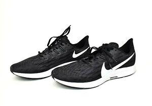 Nike Air Zoom Pegasus 36 TB Running Shoes Black Gray White BV1773 Size 12.5, 17