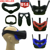 US Eye Mask Cover + Controller Handle Case for Oculus Quest VR Virtual Reality
