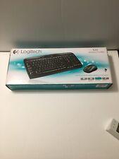 Logitech MK320 Wireless Keyboard and Optical Mouse Combo