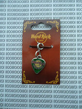 Hard Rock Cafe Cayman Islands - Logo Guitar Pick Bracelet Charm - NEW on card