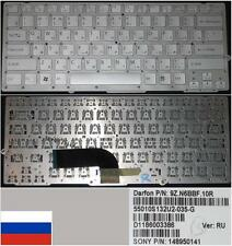 Clavier Qwerty Russe SONY VAIO VPC-SA25GG 9Z.N6BBF.10R 148950141 148950161 Gris
