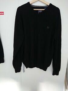 Chaps Ralph Lauren men's jumper XXL Cashmere Mix In Black