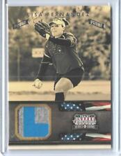 "2012 PANINI AMERICANA LISA FERNANDEZ ""PROOF"" RELIC CARD ~ 07/25 ~ UCLA SOFTBALL"