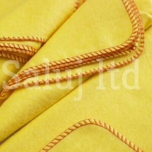 YELLOW CAR DUSTER CLEANING KITCHEN CLOTH MIXED FIBRE & COTTON TOWELS PACK OF 10